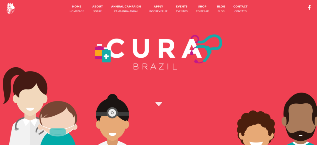 Built with Divi Cura Brazil